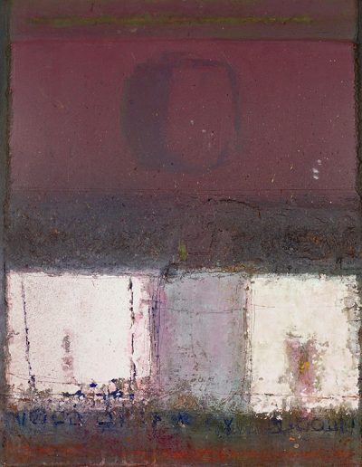 Tom Hutcheson, Untitled, Acrylic on Board, 125 x 103cm, 80s/90s