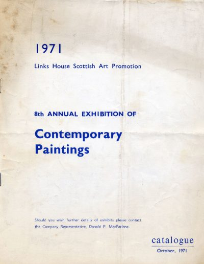 Links House, 1971 (Cover)