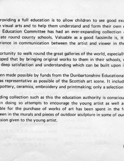 Dunbartonshire Education Committee Collection (Intro)