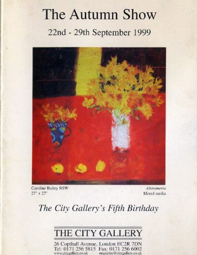 City Art Gallery, 22/08/99 (Cover)