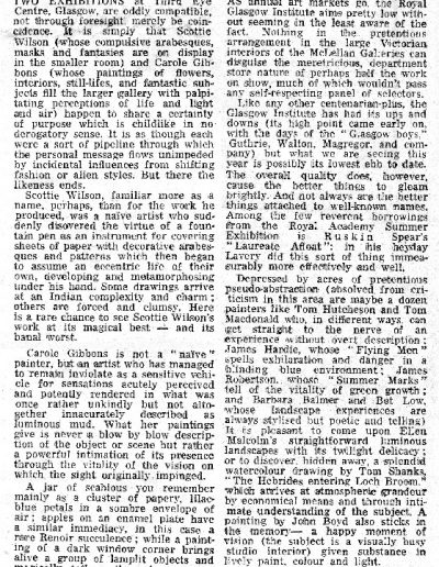 RGI Annual Show, Guardian Review, 14/10/1975